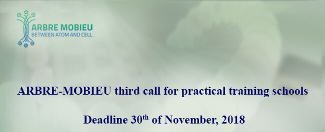 3rd Call for practical training schools